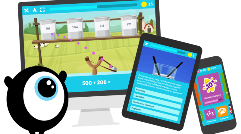 Interaktywna platforma edukacyjna dla dzieci w wieku szkolnym