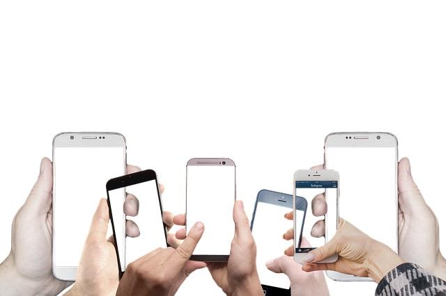 Zbyt duża ilość pulpitów w telefonie