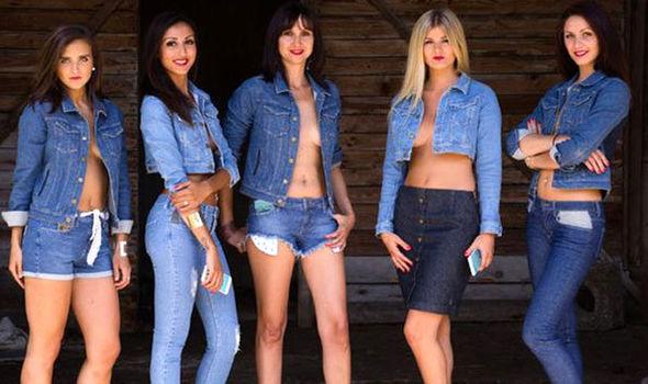 wibrujące jeansy