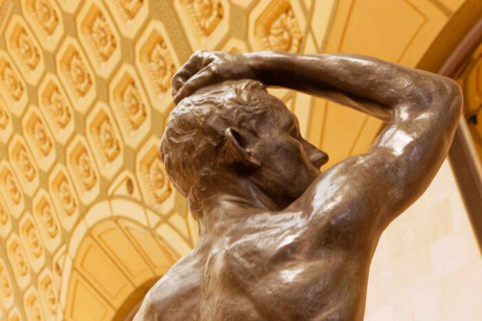 statua z brązu